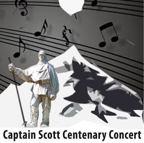 Ali Walks With Scott - Captain Scott Centenary Concert