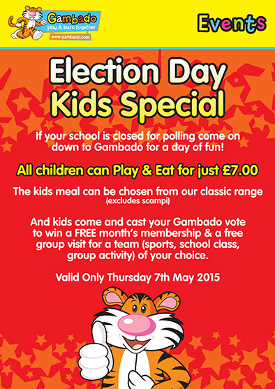 Events in Kensington & Chelsea - Election Day Kids Special