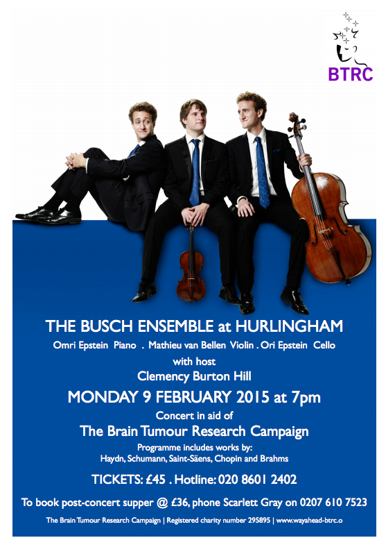 Events in Kensington and Chelsea - The Busch Ensemble