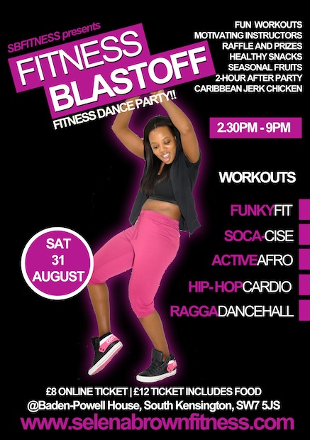 Events in Kensington and Chelsea - Fitness Blastoff
