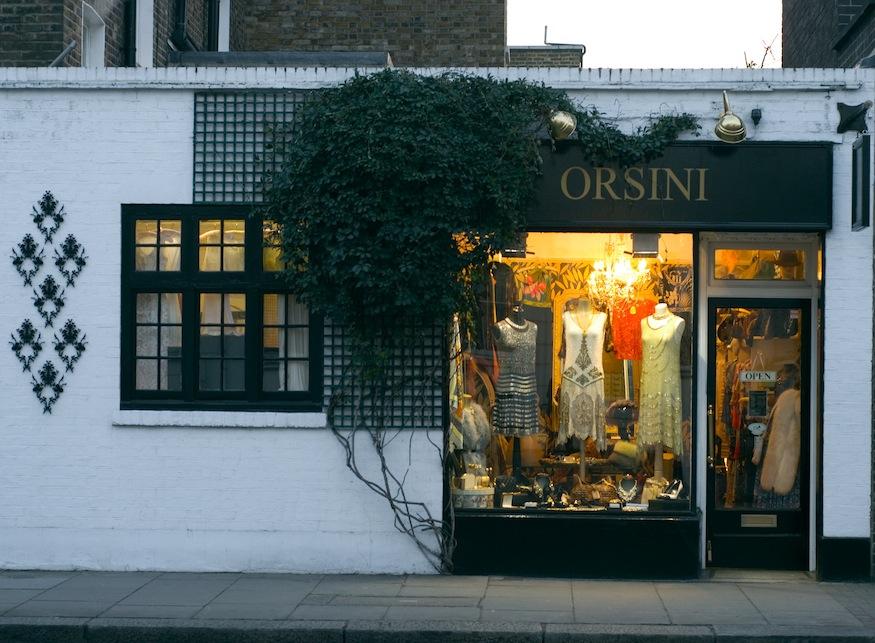 Shops in Kensington and Chelsea - Orsini