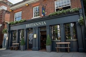 Pubs and Bars in Kensington - The Britannia
