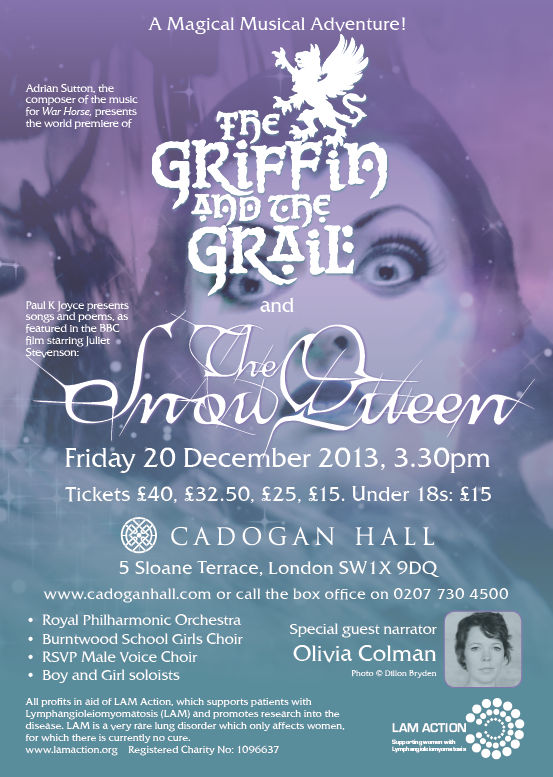 Events in Kensington - The Snow Queen & The Griffin and The Grail