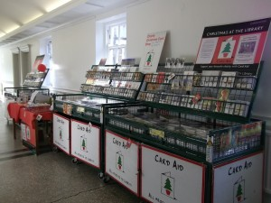Card Aid Christmas Card Shop at Chelsea Library
