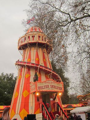Helter Skelter at Winter Wonderland 2011