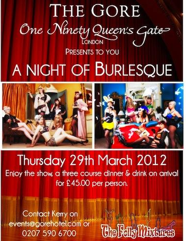 A Night of Burlesque
