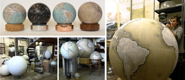 Geographical Blueprint: The Art of the Handcrafted Globe