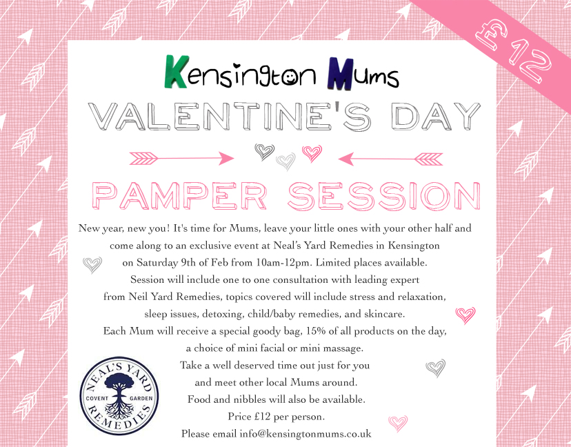 Kensington Mums Valentine's Day Pamper Session