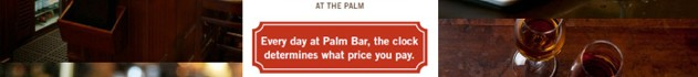 PrimeTime at The Palm Bar in Belgravia – eat & drink from only £5!