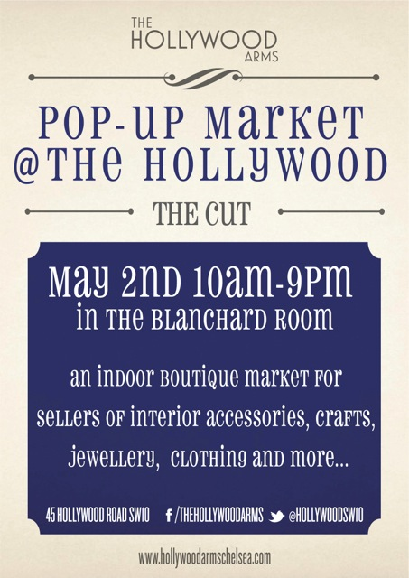Pop-Up Market at the Hollywood Arms