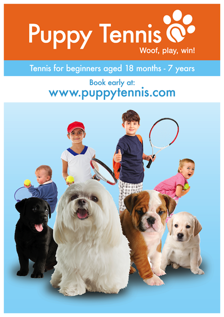 Tennis classes for children - Puppy Tennis