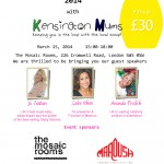 Kensington Mums' Events - Mother's Day