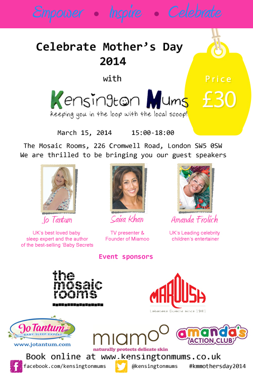 Exciting Kensington Mums events taking place in March ...