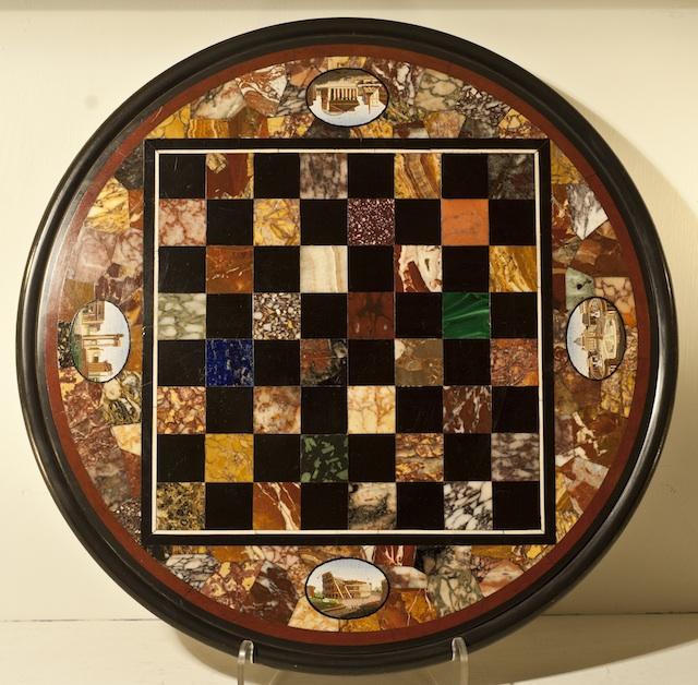 Olympia International Art & Antiques Fair 2014 - 19th century specimen marble top