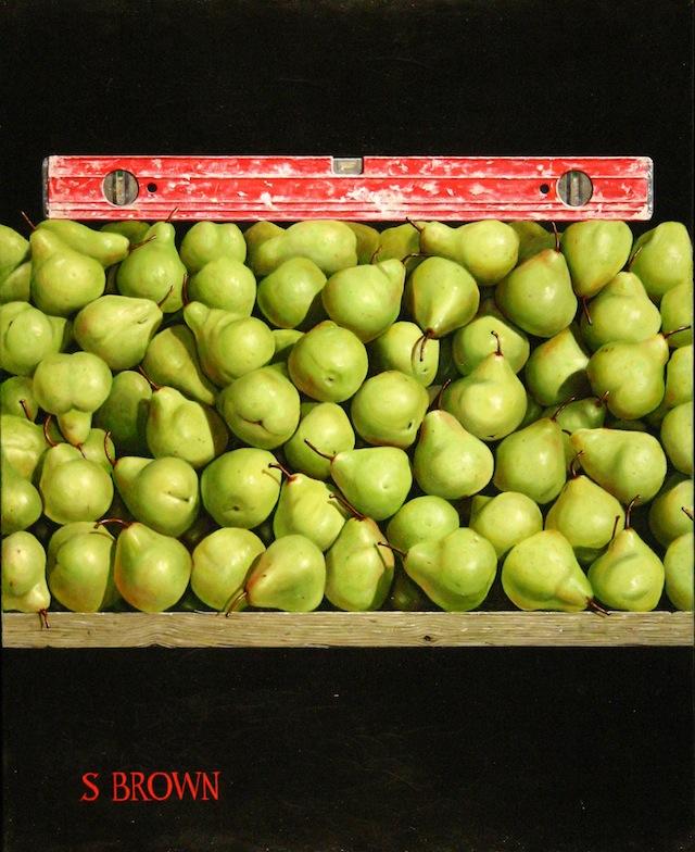 """Parallax Art Fair - Stewart Brown, """"Level Pears"""""""