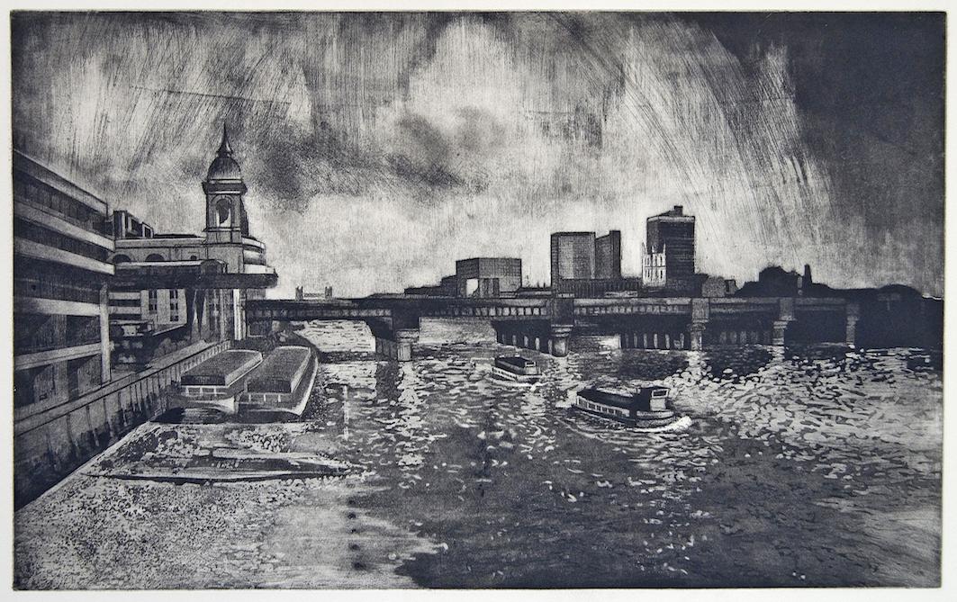 Kensington & Fulham Open Studios - Isobel Hutchinson Cannon Street