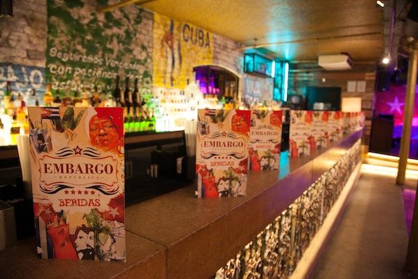 Dating night at Embargo Republica