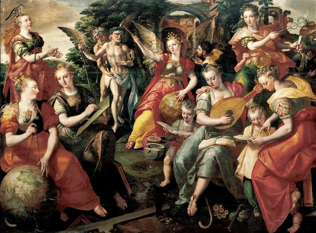 Art History Courses in Chelsea - Marten de Vos Seven Liberal Arts